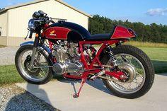 LOVE IT Honda CB550F cafe racer my style Motorcycle!
