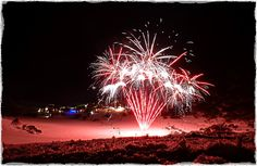 Fireworks at Charlotte Pass Ski Resort in New South Wales #snowaus