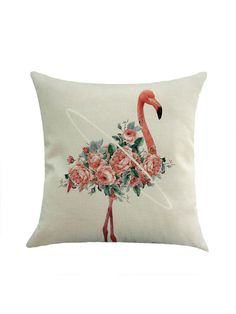 Shop Flower & Flamingo Print Pillowcase Cover online. SheIn offers Flower & Flamingo Print Pillowcase Cover & more to fit your fashionable needs.