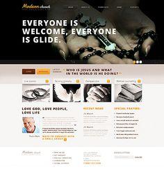 39 Best Church Christian Website Templates Images Website
