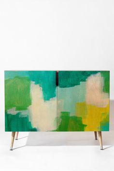 Natalie Baca Rainbows and Dreams Credenza   DENY Designs Home Accessories
