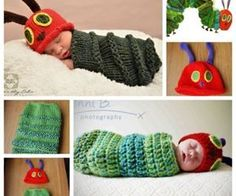 Baby Knitting Patterns Cocoon Newborn Caterpillar Hat & Cocoon Free Crochet And Knitting Pattern 2 Diy Crafts Knitting, Loom Knitting, Knitting Projects, Crochet Projects, Diy Projects, Crochet Gratis, Knit Or Crochet, Crochet For Kids, Free Crochet