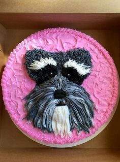 Schnauzer cake by Brooke Link: https://www.sunfrog.com/search/?64708&search=schnauzer&cID=62&schTrmFilter=sales