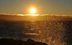 A splash of sunset.