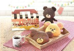 あのキャラクターがパンに!? 人気絵本シリーズ「くまのがっこう」のおてんばジャッキーが「BAKERY CAFE CHARABREAD」に登場 | NEWS | HARAJUKU KAWAii!! STYLE