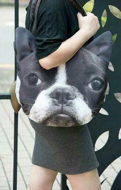Boston Terrier Tote.