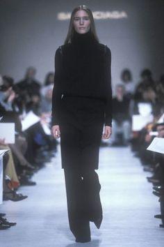 Nicolas Ghesquire for Balenciaga Fall/Winter Business Fashion, Business Style, Nicolas Ghesquiere, Alaia, Balenciaga, Personal Style, Runway, High Neck Dress, Fall Winter
