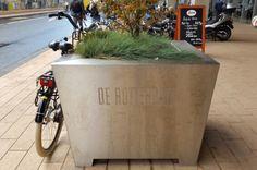 Zilvere plantenbak, Rotterdam