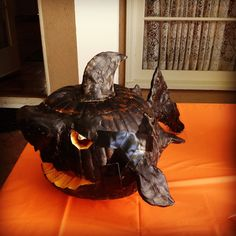 A shark from our office pumpkin carving contest. Happy Halloween!