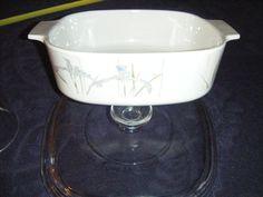 Corning Ware Shadow Iris 2 Lt Covered Baking Dish / Casserole Dish A-2-B Lid a9c #CorningWarePyrex