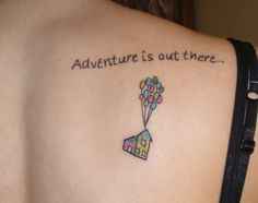 Up: Adventure is out there...