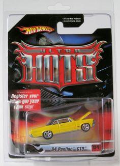2007 Hot Wheels Ultra Hots '64 pontiac GTO Yellow 4/36