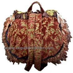 Magnolia Pearl Handbags | Magnolia Pearl Fabulous Rare Early Back Pack | Exquisite Clutter