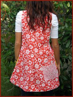 pichi maestra AINARA Aprons, Hand Sewing, Patterns, Fashion, Scrappy Quilts, Vestidos, Window Boxes, Easter, Sewing Patterns