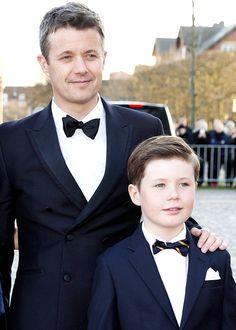 kronprinsenfrederik:  Crown Prince Frederik and Prince Christian of Denmark