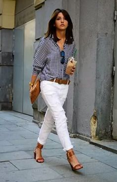 This would be my uniform with a little less destruction on the jeans and less of a heel on the shoes
