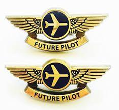 Plastic pilot wings for kids