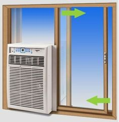 How To Install A Sliding Window Air Conditioner | Best Rated Portable Air Conditioner