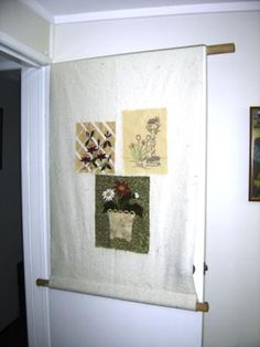 perfect design wall for quilting-takes little space and can be ...
