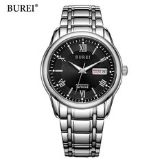 112.99$  Buy here - http://aiv6f.worlditems.win/all/product.php?id=32803723759 - BUREI Luxury Brand Watch Mechanical Watch Men Business Wristwatches Automatic Watches Men Clock Relogio Masculino reloj hombre
