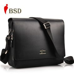Men messenger bags 2016 designer leather briefcases men famous brand high quality shoulder bag office bags for men business bag | Price: US $13.26 | http://www.bestali.com/goto/32319795670/10