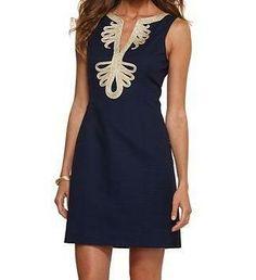 Lilly Pulitzer Resort '13- Janice Dress in True Navy