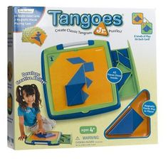 Pediatric Occupational Therapy Tips: Visual Perceptual Activity: Tangram Puzzles