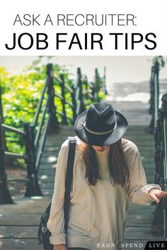 Job Fair tips from our expert career recruiter at earnspendlive.com