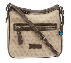 Dooney & Bourke Signature Crossbody Bag with Adjustable Strap