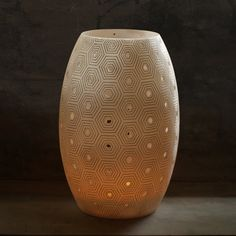 Lamps & Candle Holders - Oval Design, Pattern 4