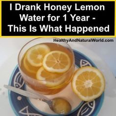 JOJO POST FOREVER YOUNG: The Amazing Health Benefits Of Drinking Honey Lemon Water