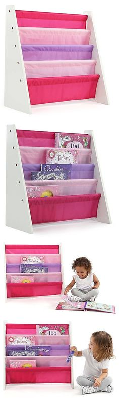 bookcases 115749 tot tutors kids book rack storage bookshelf white pink and purple friends - Tot Tutors Book Rack Primary Colors