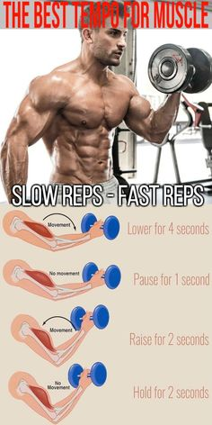 Tempo Training Method: Time Under Tension – Improve Your Strength Gains Everyone's familiar with the … Gym Workout Chart, Gym Workout Tips, Weight Training Workouts, Biceps Workout, Strength Training Program, Training Programs, Workout Programs, Bodybuilding Training, Bodybuilding Workouts