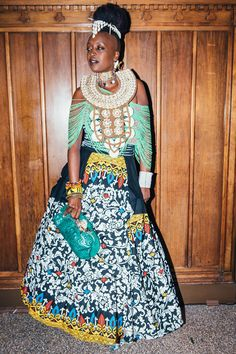 "24 Looks That Take ""Fancy"" & Flip It On Its Head #refinery29 http://www.refinery29.com/2016/11/130843/afropunk-fancy-dress-ball-best-dressed#slide-18 Wamaha Wawera, 36How would you describe your look?""World culture.""..."