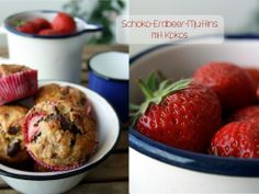 Schoko-Erdbeer-Muffins und ein kleines Give away von Casa di Falcone