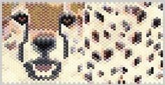 Cheetah 92416 Tiny Seed Bead Mini Amulet Bag Peyote Pattern PDF or KIT DIY