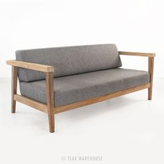 Copenhague Reclaimed Teak Loveseat - Teak Deep Seating - Deep Seating Collections