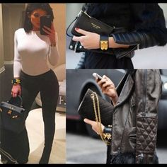 Hermes collier de Chien bracelet Kylie Jenner This bracelet is so stylish. You can dress it up or down, Please ask for more photos or questions if you need to see inside logo. :) Comes with box. You won't be disappointed at all! Jewelry Bracelets