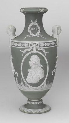 Wedgwood Trafalgar Centenary Vase, 1905.
