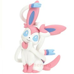Pokemon XY Fairy Full Collection SYLVEON Figure Nintendo Tomy Gashapon  #TakaraTomyArts