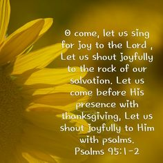 """Take not of the """"Let Us"""" statements in Psalm 95! Powerful ways to worship and center our heart's and mind's today, and every day. We must train our attitudes into one's of worship and praise to God our Maker. Living Deeper Still in the """"Let Us."""" www.deeperstillministries.com"""