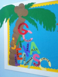 Check out this fun Idea featured in the Back to School Bulletin Board Ideas Roundup on OneCreativeMommy.com! Based on my favorite Chica Chica Boom Boom Book!
