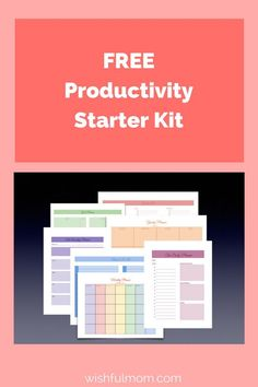 Get organized and productive with these colorful planners...
