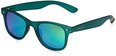 Womens Sunglasses    Polaroid Sunglasses PLD6009NM Wayfarer Polarized Sunglasses Transparent Dark Green  Green Mirror Polarized 50 mm * Click on the image for additional details.-It is an affiliate link to Amazon. #WomensSunglasses
