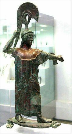 Athena Promachon, Archaeological Museum of Athens.