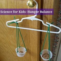 TEACH YOUR CHILD ABOUT BALANCE WITH THIS CLEVER IDEA!  http://kidsactivitiesblog.com/17228/science-for-kids-hanger-balance
