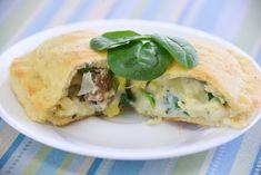 How to make breakfast calzones