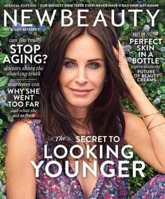 Courteney Cox for New Beauty - Summer 2017