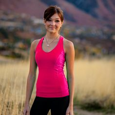 Albion Fit Love Racer, Neon Pink