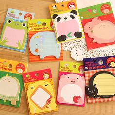 Memo Pads Office & School Supplies 1 Pieces Lytwtws Lovely Animal Cat Panda Tower Sticky Notes Memo Pad Paper School Supplies Planner Stickers Stationery Ture 100% Guarantee